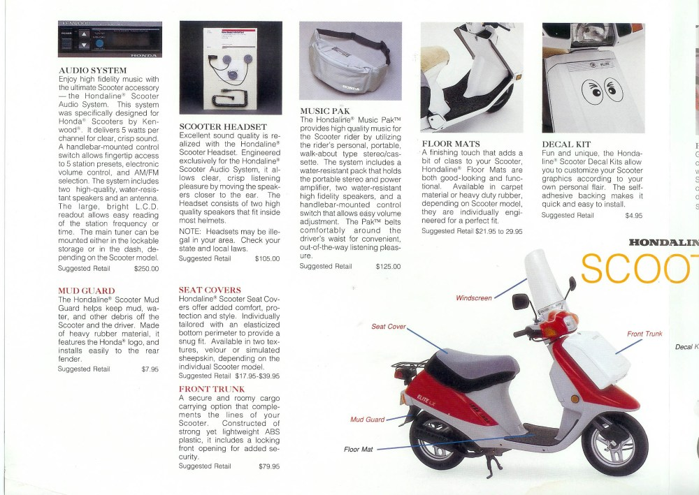 medium resolution of problems particular to honda scooters