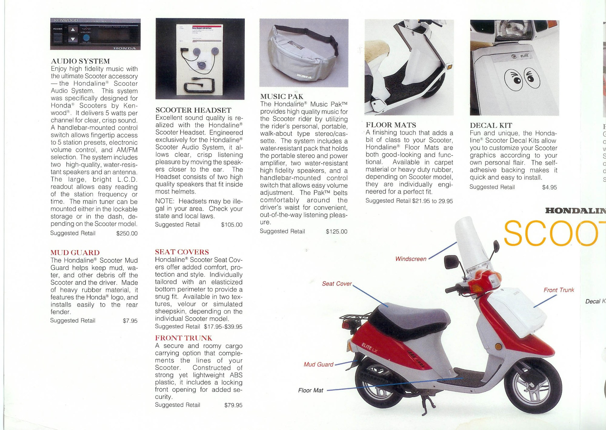 hight resolution of problems particular to honda scooters