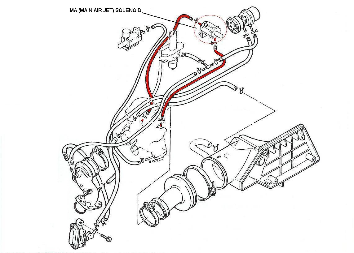 Moped Carb Diagram