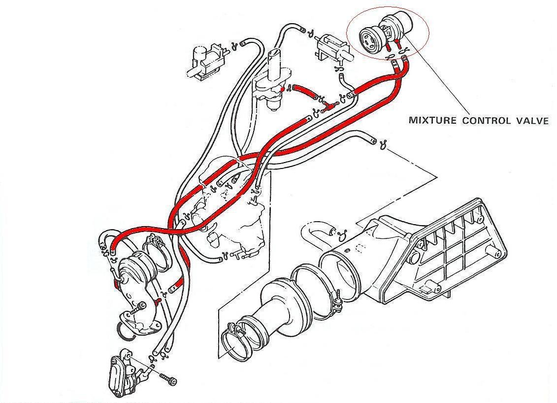 Scooter Carburetor Vacuum Hose Routing Diagram