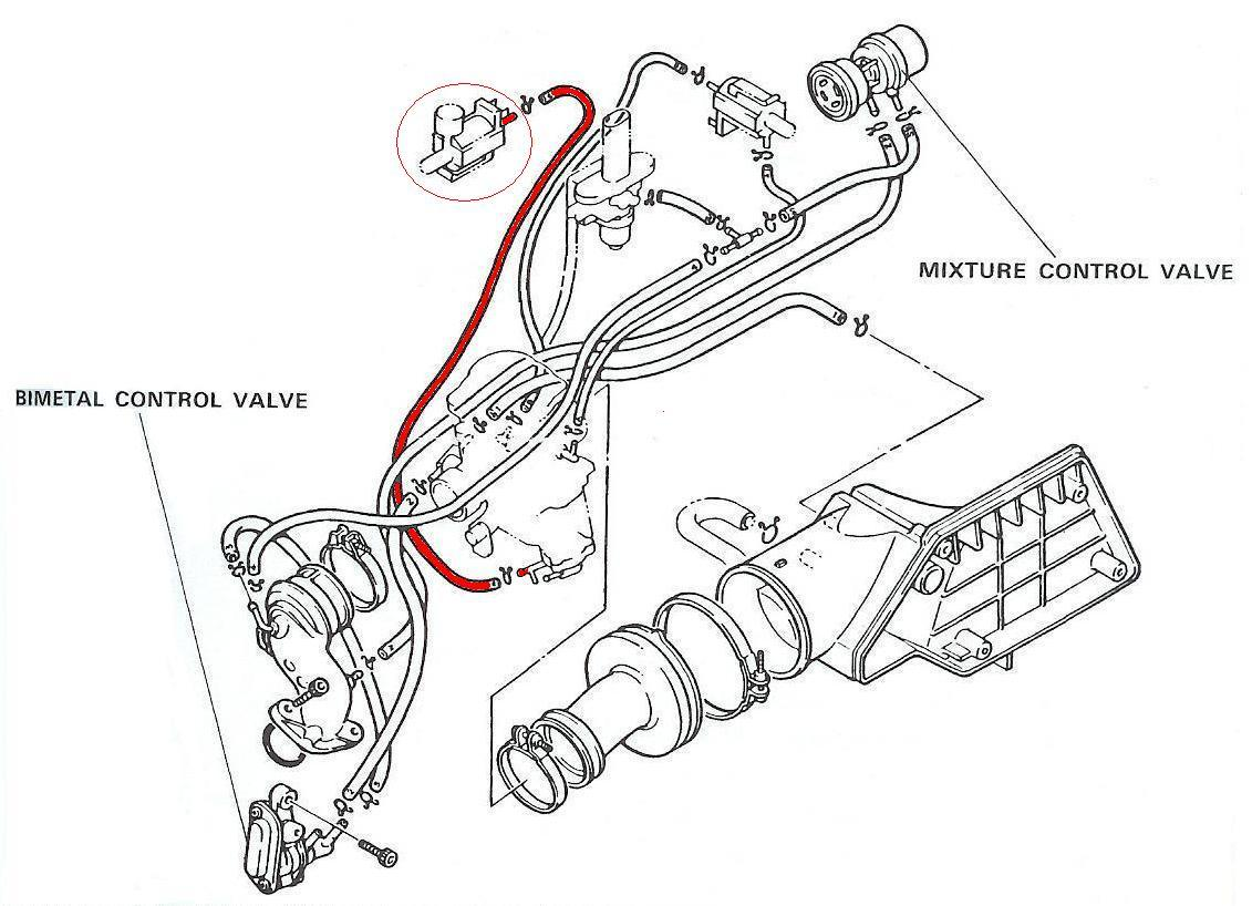 Kymco Scooter Vacuum Hose Diagram