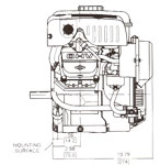 Briggs & Stratton 6 HP Vanguard Engines