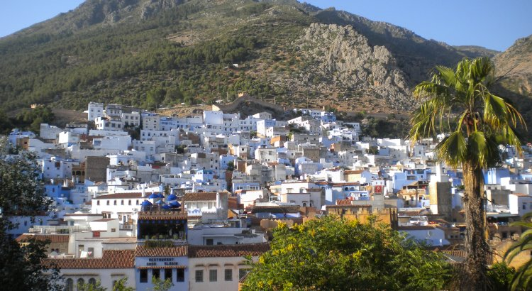 The city of Chefchaouen