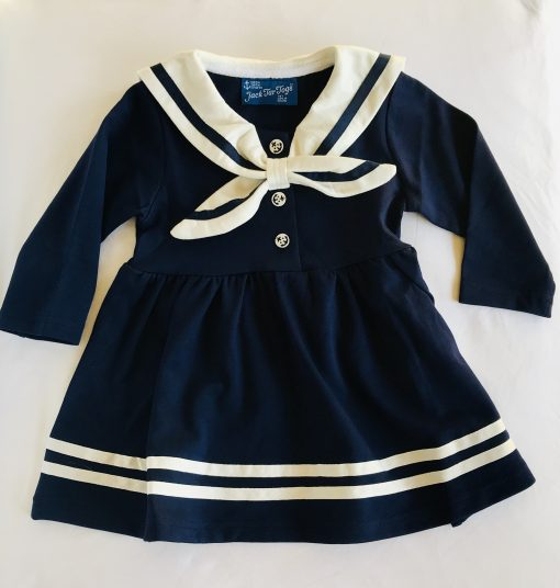 Classic Sailor Dress from Jack Tar Togs in Navy