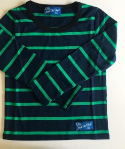 Striped Green Blue Boating Shirt