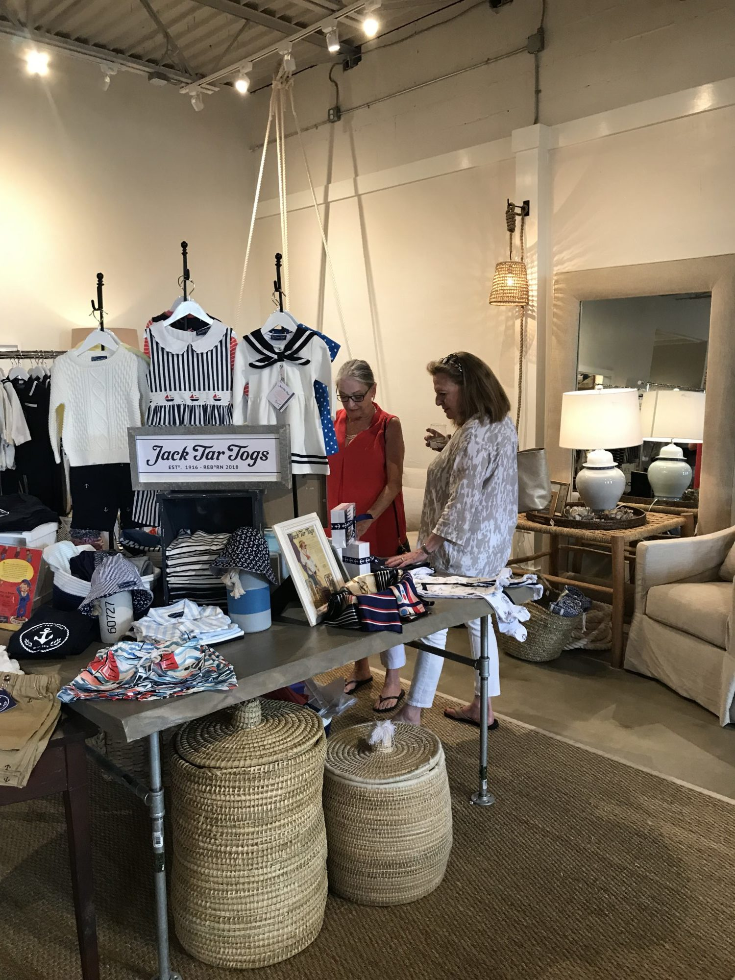 Jack Tar Togs Retail Store