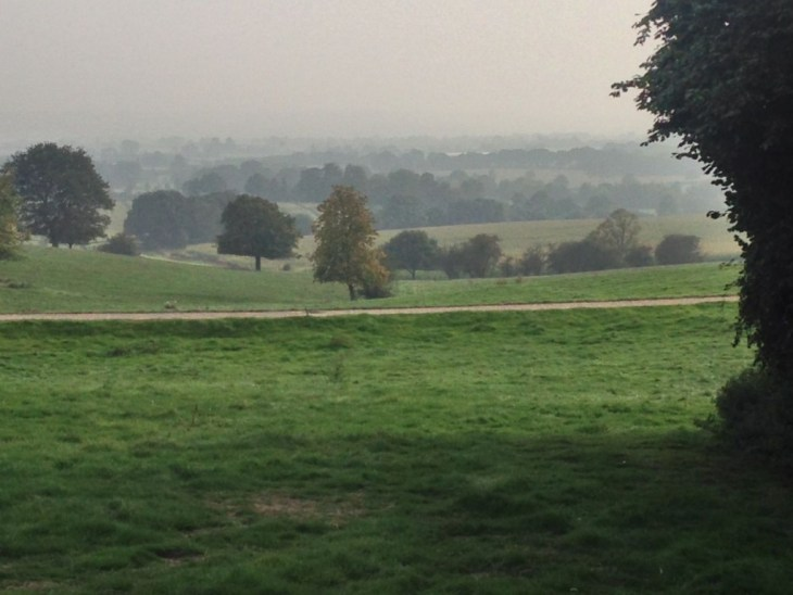 A view across the Kent countryside