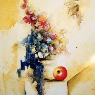 Bouquet à la pomme - 65x54 cm