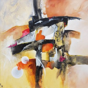 Construction Astral 100 x 100 cm