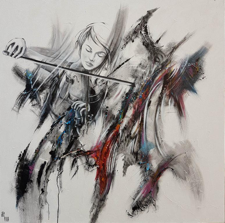 Energie Symphonique - 100 x 100