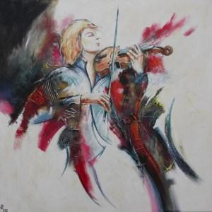 Concert -100 X 100 cm