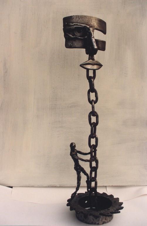 Sculptures acier