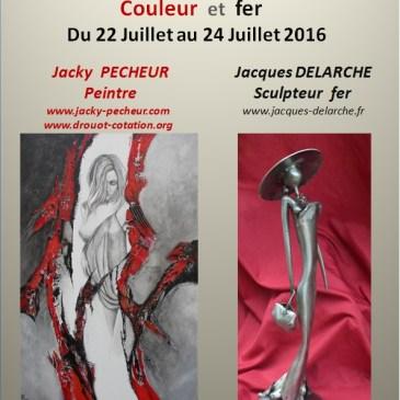 Expo peintures et sculptures : Couleur et fer