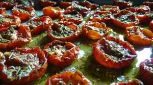 Tomates confites (photo Mariatotal)