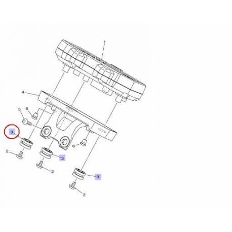 Amortisseur de support de compteur pour Yamaha MT07 de