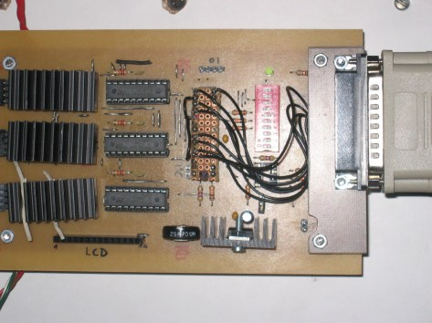 control v2 board with adapter