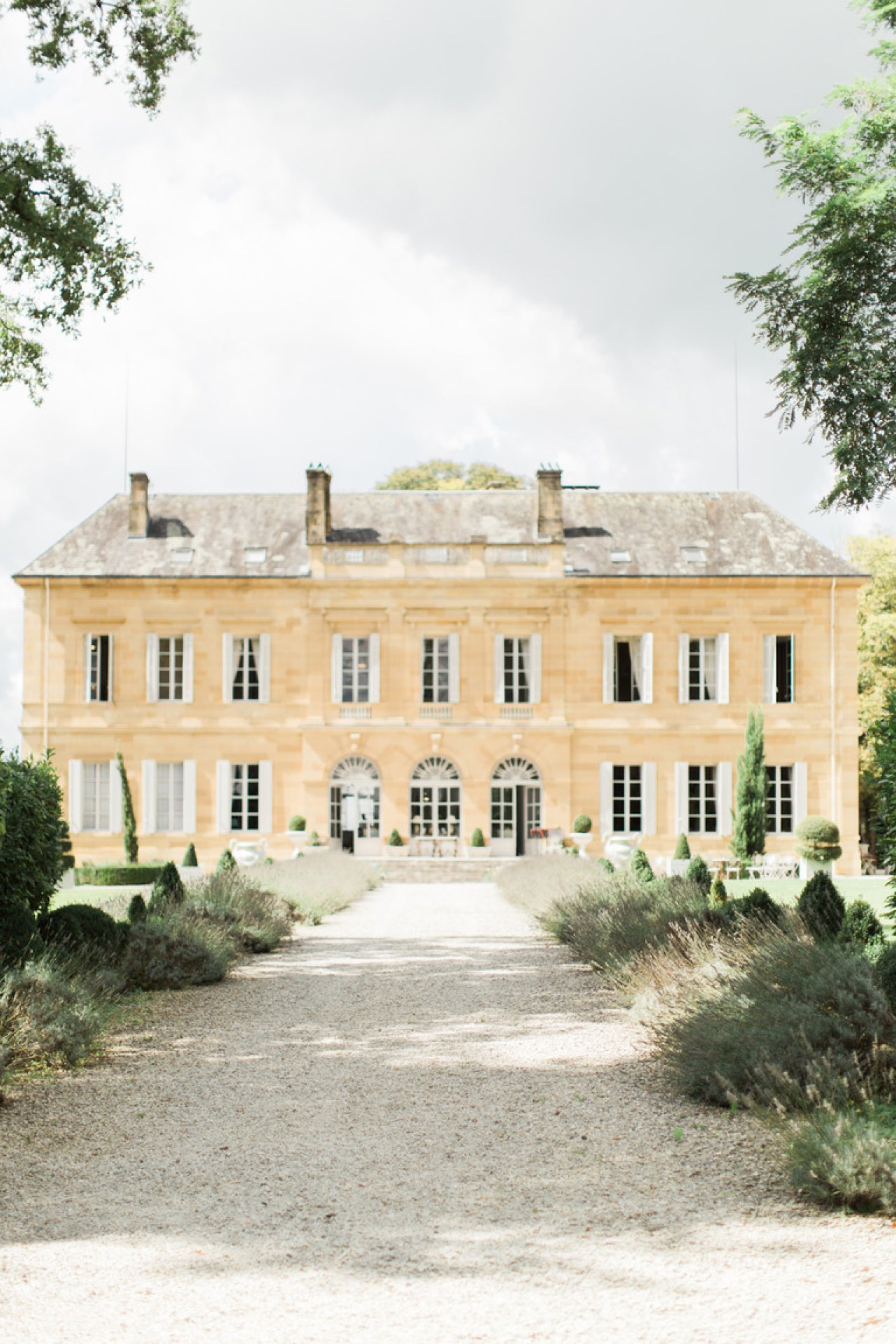Wedding at Chateau la Durantie in France
