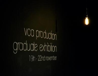 VCA Production Graduate Exhibition