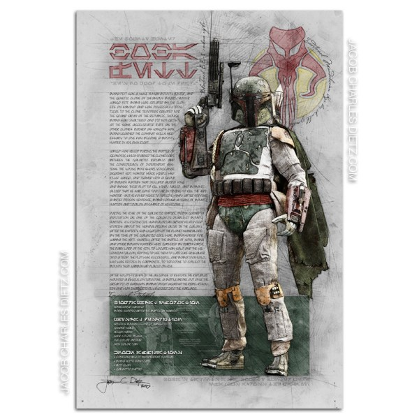 boba-fett-art-print-with-slave-one-star-wars-limited-edition
