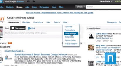 removing or leaving a linkedin group