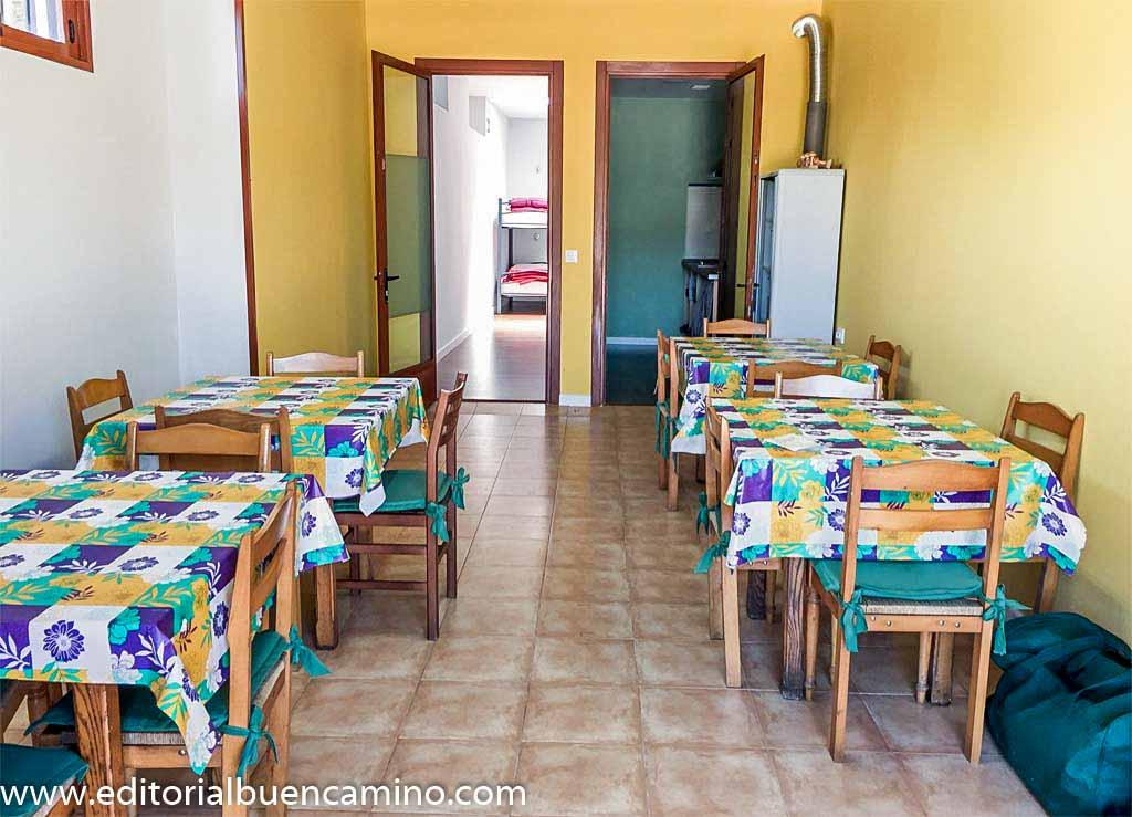 Casa Marqus Pensin albergue bar  Berducedo  Camino