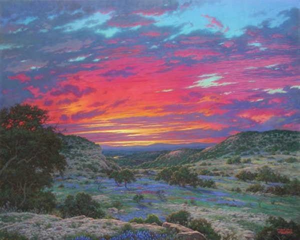 Heaven39s Glory Limited Edition Giclee Print by Larry Dyke