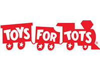 Toys For Tots logo - Community Giving