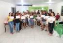 117 pessoas são certificadas pelo Programa Eu Me Qualifico no Residencial Lagoa Dourada