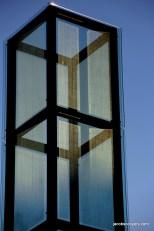 Holocaust Memorial at Sunset