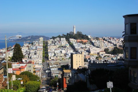 Top of Lombard St