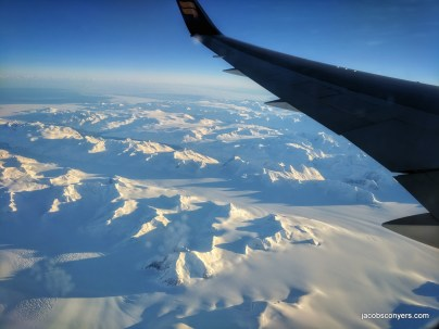 Greenland from above... Wow!