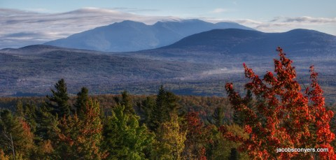 Views of the Presidential range