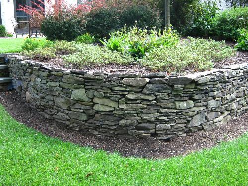 landscape retaining walls in bergen