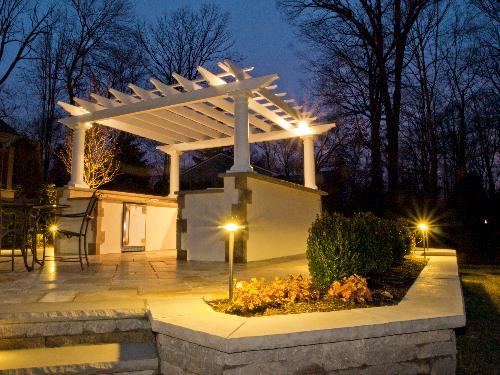 outdoor landscape lighting - bergen