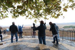 Praying for the IDF in the Golan Heights