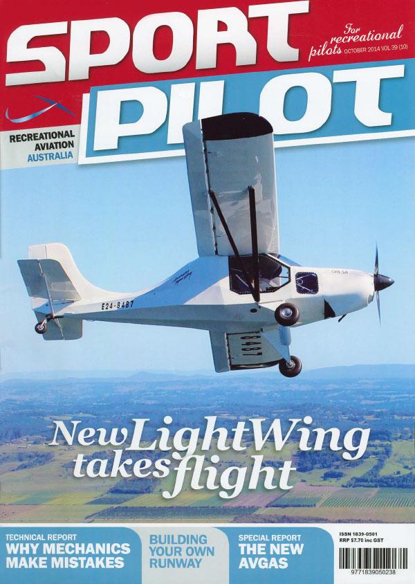 Sport Pilot October 2014