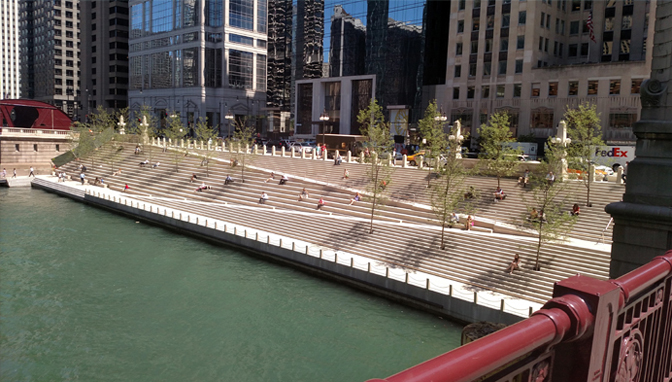Chicago Riverwalk Phases 2 and 3  JacobsRyan Associates