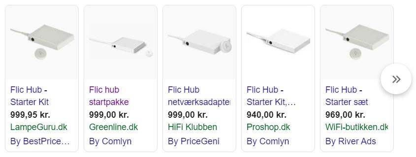 Flic hub koster pt. 999,-