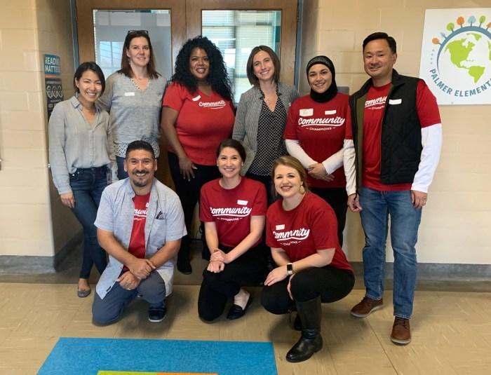 Group photo of Janus Henderson Volunteers