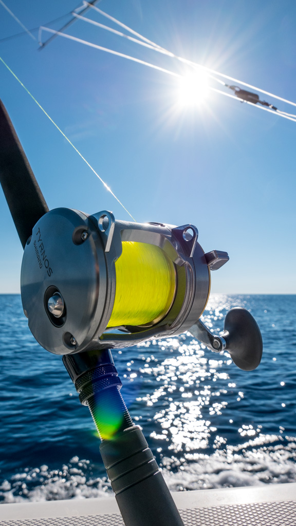 Our Tyrnos II speed fishing reel