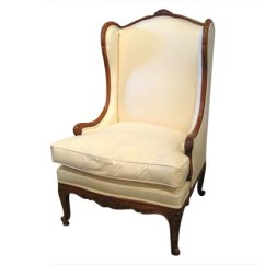 French Louis Chair Flip And Fold High Xv Style Walnut Wingback Bergere From The 19th Coming Soon