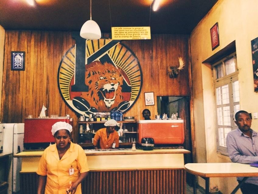 Tomoca, Addis Abeba's oudste koffiebrander