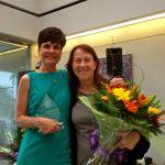 Associate Dean, LMU-SOE, Kathy Ash with Jacqueline
