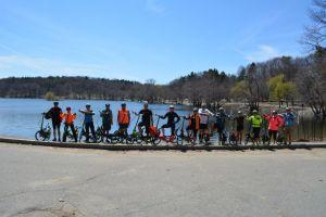 EliptiGO ride - lake