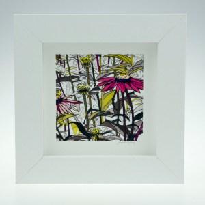 Flowerscape-Framed Prints - Small Square-Pensthorpe Natural Park