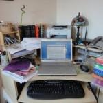 My desk