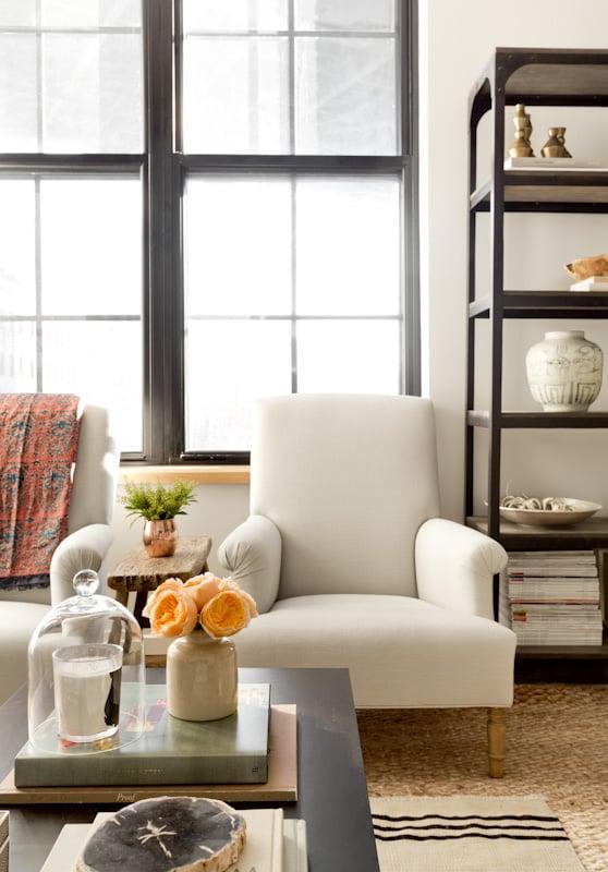 The Coziest Apartment in Dumbo  lark  linen