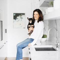 Flag Halyard Chair White Recliner The Everygirl Co-founder's Home Tour   Lark & Linen