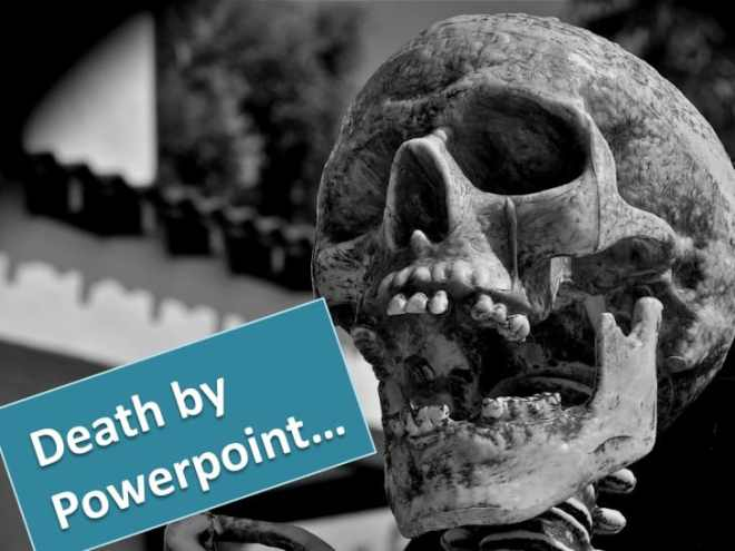 Death by Powerpoint - douglas kruger