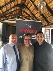 Jacques de Villiers, Stephen van Basten and Vinesh Maharaj YinYang of Sales
